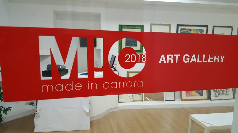 MiC - Made in Carrara art Gallery - via Nuova 23